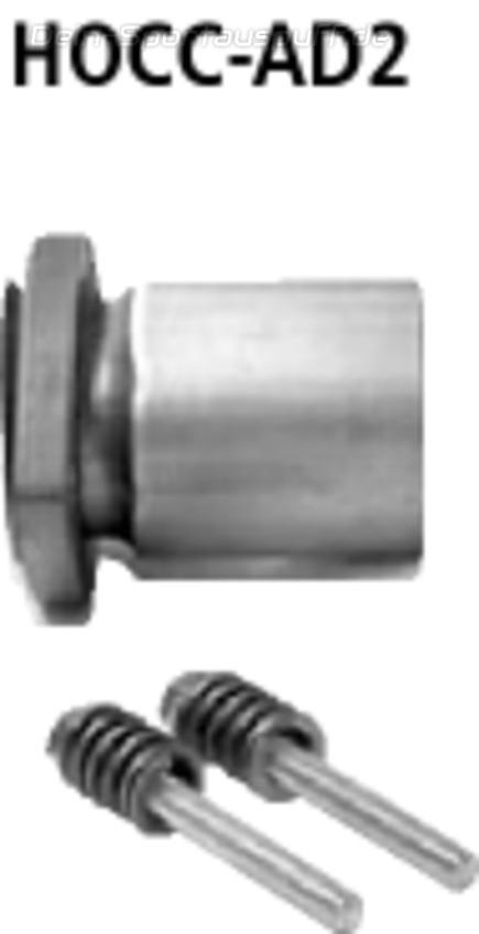 Bastuck Edelstahl Adapter Honda Civic Coupe EM2 Bj.01-06