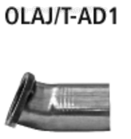 Bastuck Edelstahl Adapter Opel Astra J Sports Tourer Turbo