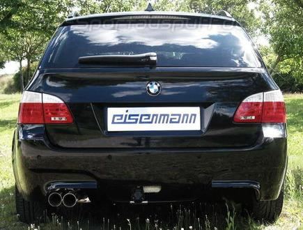 eisenmann sportauspuff bmw 5er e60 e61 520i 530i lci. Black Bedroom Furniture Sets. Home Design Ideas