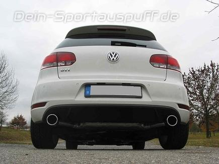 akrapovic eisenmann sportauspuff f r vw golf 6 1 4 tsi 90kw 122ps edelstahl g nstig online. Black Bedroom Furniture Sets. Home Design Ideas