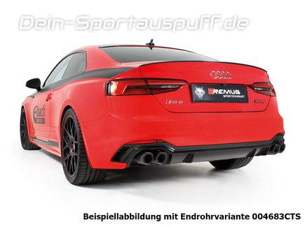 Remus Edelstahl Duplex Racing-Komplettanlage ab Kat Audi RS5 B9 Coupe Typ F5