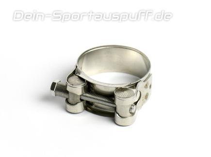 Bastuck Edelstahl Auspuff-Bandschelle Ø 51-55mm