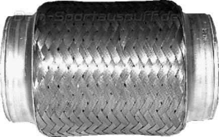 Bastuck Edelstahl Auspuff-Flexrohr Hosenrohr Durchmesser Ø 55 / Länge 105mm