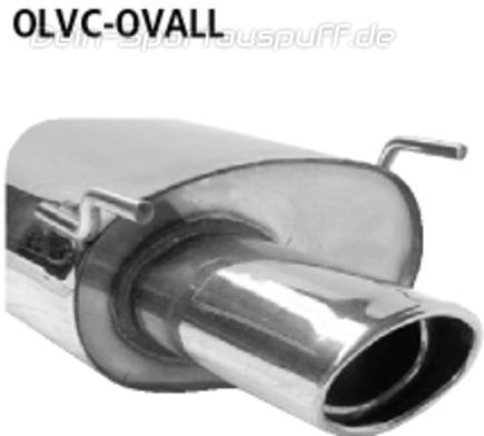 Auspuff mitte Opel Vectra C GTS 2.0 DTI 16V /& 2.2 DTI 16V Mitteltopf