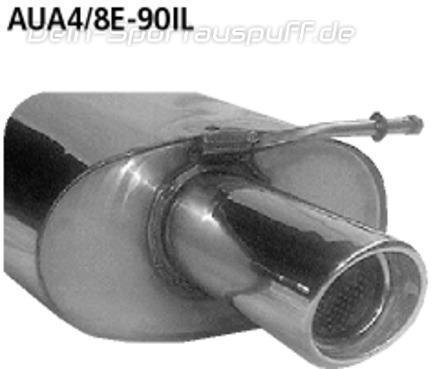 AUDI A4 1.8 Stufenheck Kombi 110 KW 1995-2001 Auspuff Abgasanlage 0930