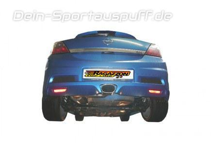 Komplettanlagen Sportauspuff Fur Opel Astra H Gtc 2 0 Turbo