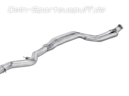 Akrapovic Edelstahl Verbindungsrohr BMW 3er F30 F31 335i Limo Touring