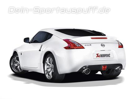 sport endschalld mpfer f r nissan 370 z roadster typ z34. Black Bedroom Furniture Sets. Home Design Ideas