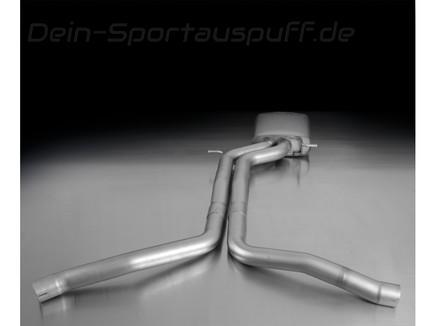 Remus Edelstahl Mittelschalldämpfer Audi RS5 B8 Coupe Cabrio Typ 8T
