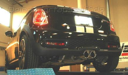 Borla S Type Edelstahl Komplettanlage Ab Kat Mini Cooper S R58 Coupe