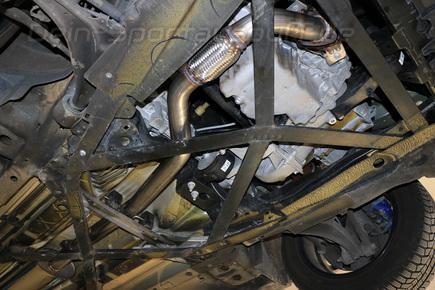 FOX Edelstahl Downpipe mit Flexrohr Opel Cascada 1.6l