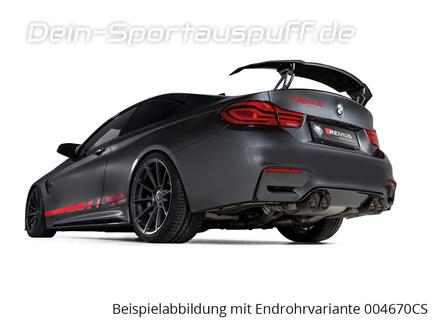 Remus Sportauspuff BMW M4 Competition F82 Coupe inkl. Endrohrsatz nach Wahl