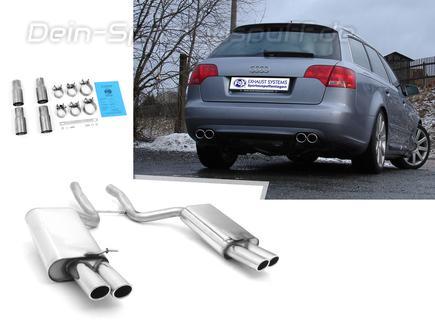 Sportauspuffe Sportauspuffanlagen Für Audi A4 B7 Typ 8e 8ec 30