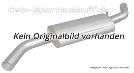 Fox Edelstahl Mittelschalldämpfer Mercedes Sprinter mit Radstand 3,55m ab 1995