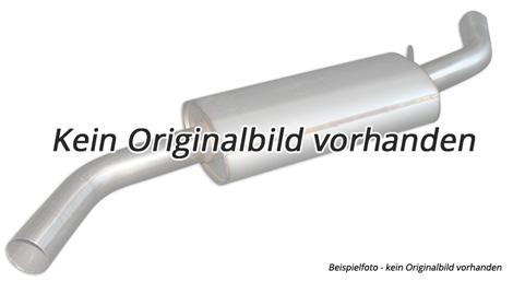 Eisenmann Edelstahl Mittelschalldämpfer VW Golf 6 1.2l TSI