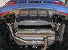 Bastuck Edelstahl Duplex Racing-Komplettanlage ab Kat mit Klappensteuerung BMW 4er F33 F36 2.0l Turbo ab Bj.2015 u. 3.0l Turbo je 2x85mm rund eingerollt aus Carbon - Abb. 6