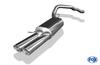 Fox Edelstahl Racing-Komplettanlage ab Kat VW T5 4motion Caravelle Kombi Multivan 2x88x74mm oval eingerollt abgeschrägt - Abb. 3