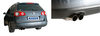 Bastuck Edelstahl Sportauspuff inkl. Adpater auf Serie VW Passat 3C u. 3CC Turbo 2x76mm rund scharf abgeschrägt ohne Absorber - Abb. 3