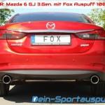 Fox Auspuff Mazda 6 GJ 3.Gen.
