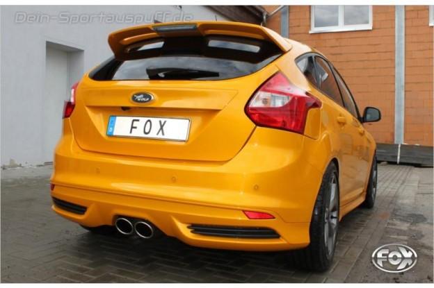 Fox Sportauspuff für Ford Focus 3 ST