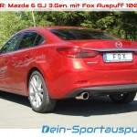 Fox Sportauspuff Mazda 6 GJ 3.Gen.
