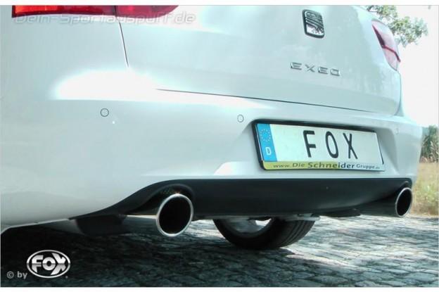 Fox Sportauspuff Seat Exeo 2.0 TFSI