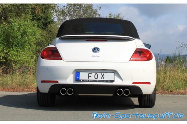 VW Beetle Typ 16 Fox Sportauspuff rechts/links