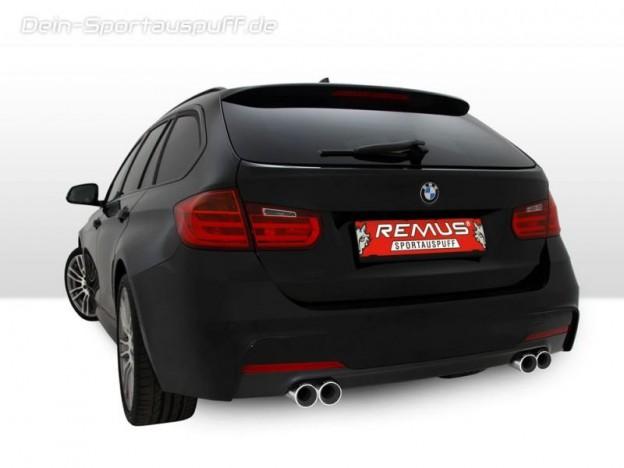 Remus Duplex Sportauspuff BMW 3er F31