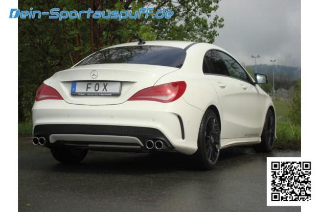 Mercedes CLA Sportauspuff von FOX