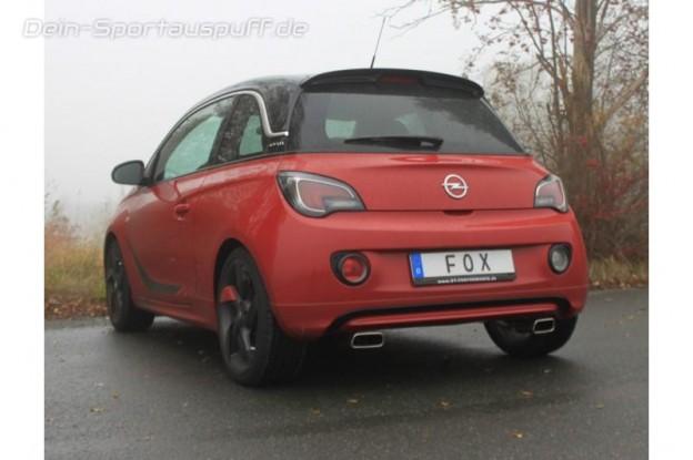 Opel Adam Sportauspuffanlage & -Auspuff