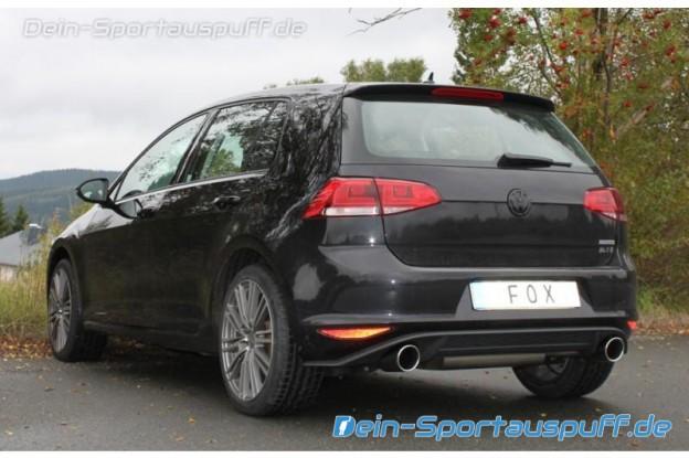 VW Golf 7 GTI Sportauspuff