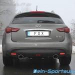 Infiniti FX30d Auspuffanlage Edelstahl