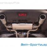 Infiniti FX30d Edelstahl Endschalldämpfer