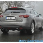 Infiniti FX30d Sportauspuffanlage