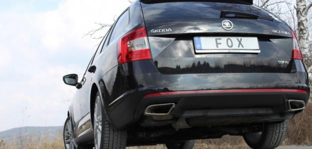 Sportauspuff-Komplettanlage Skoda Octavia 5E RS 2.0 Diesel