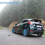 Sportauspuffanlage Ford Fiesta MK7 JA8 oval von FOX