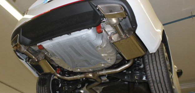 Sportauspuffanlage Skoda Octavia 5E RS TSI Benziner