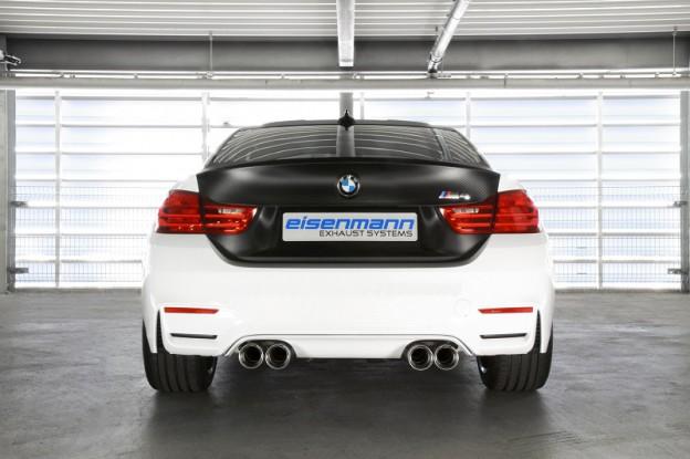 Eisenmann Sportauspuff BMW M3 F80, M4 F82 Coupe & M4 F83 Cabrio