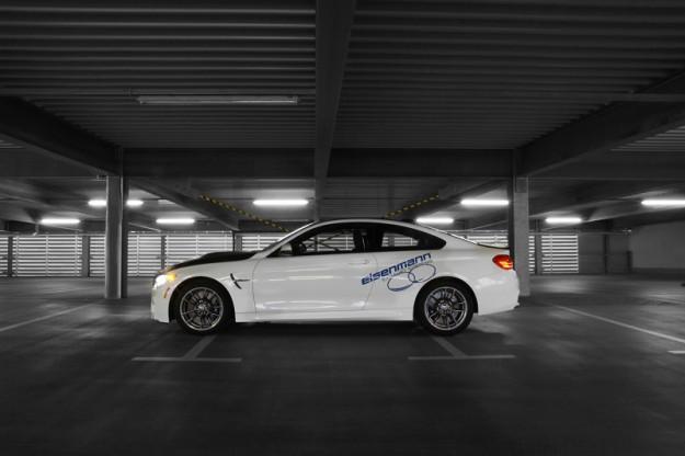 Auspuffanlage BMW M3 F80, M4 F82 Coupe & M4 F83 Cabrio von Eisenmann