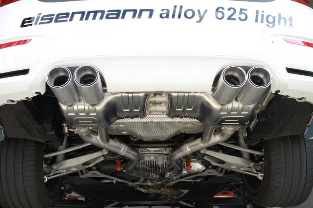 Auspuff BMW M3 F80, M4 F82 Coupe & M4 F83 Cabrio von Eisenmann