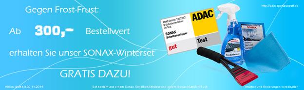 Dein-Sportauspuff.de Winteraktion - Winterset GRATIS!