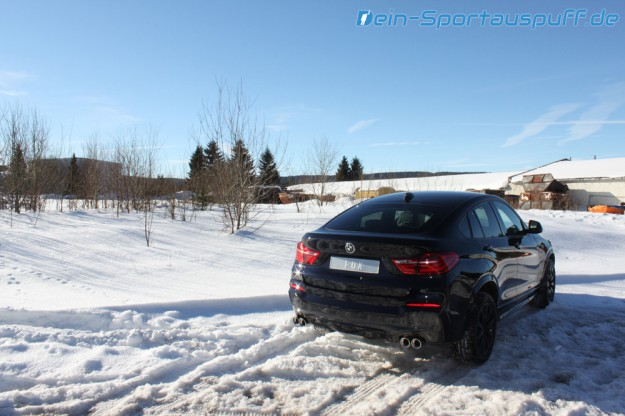 BMW X4 F26 Edelstahl-Auspuff von Fox