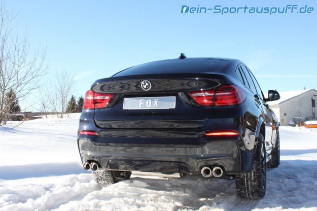 BMW X4 Sportauspuff von Fox