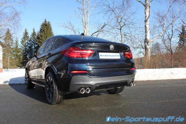 Fox Sportauspuffanlage BMW X4 F26