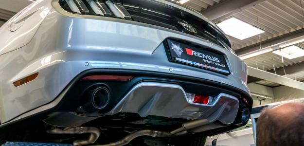 Remus Ford Mustang 6 Sportauspuffanlage mit Klappensteuerung by Dein-Sportauspuff.de